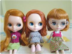 Rebecca e suas irmãs ruivinhas