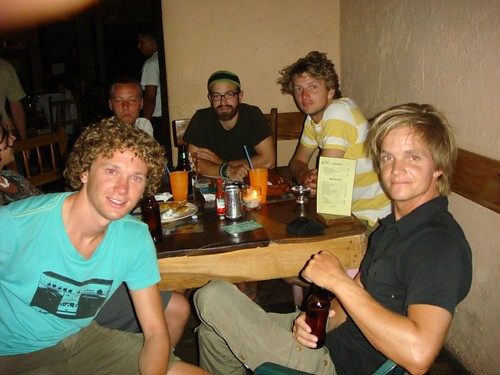 With  the good Dutchies in León, Nicaragua.