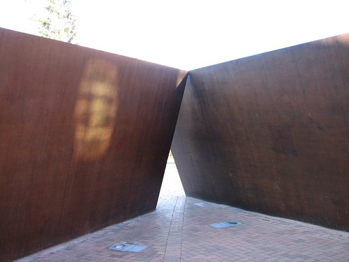 Richard Serra, Wrights Triangle (1978)