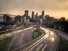 Downtown Minneapolis Skyline (Greg Benz Photography) Tags: photography cuba explore helicopter citylights twincities hdr urbanskyline 327 downtownminneapolis minneapolisskyline americancities i35wbridge carbonsilver urbanhdr photosofminneapolis minneapolishdr minneapolistraffic twincitiesphotos dreamassignment