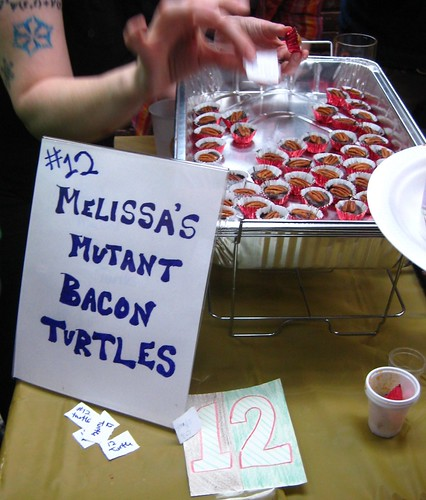 #12-Melissa's Mutant Bacon Turtles