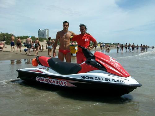 Motos Agua Operativo de Seguridad en Playa del partido de La Costa 01