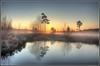 The Sun shows itself (Martin_Finlayson) Tags: trees sun mist water pool sunrise reflections earlymorning hdr bej omot karmapotd karmapotw crooksburycommon alemdagqualityonlyclub ubej colorsofthesoul daarklands yourwonderland lirodon passiondéclic