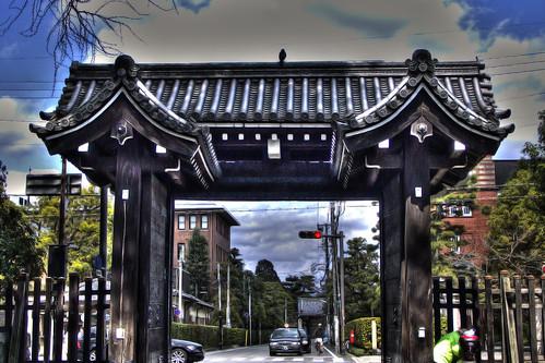 Imadegawa-gomon02, Kyoto Imperial Palace