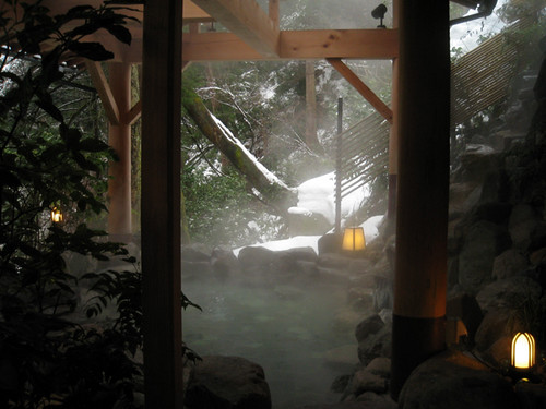 こおろぎ楼(山中温泉)の露天風呂