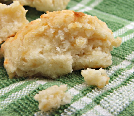 Cheddar and Garlic Drop Biscuit