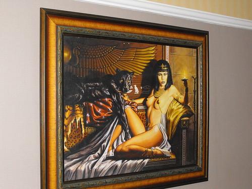 Pintura, Cleopatra Erotica en Motel Mao