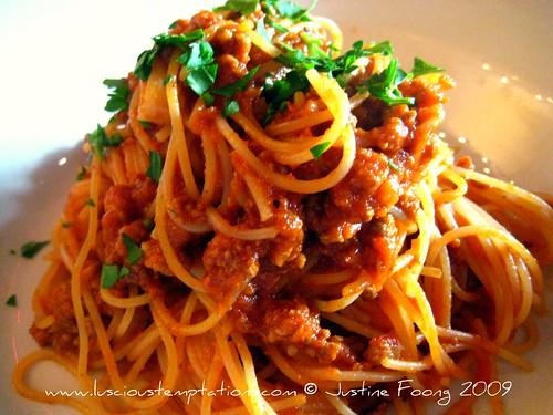 Spaghetti Bolognese - Italian Kitchen, Holborn
