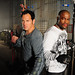 Hector Echavarria and Rashad Evans by MovieSet Community