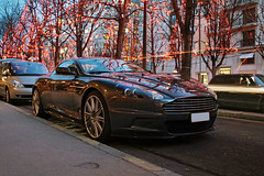 Aston MArtin DbS at Xmas ([ JR ]) Tags: christmas xmas paris car martin noel exotic aston dbs plazza fialeix