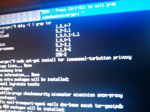Tor install