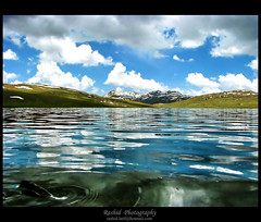 Silent Motion (R a S h I d) Tags: pakistan lake mountains reflection nature clouds landscape gpg rashid deosai sheosar sheosarlake northernareasofpakistan rashidlatif rashid4u rashidphotography karachiuniverity