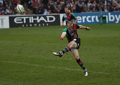 Mike Brown (David Coldrey) Tags: brown mike cup sport canon heineken rugby union final quarter stoop twickenham quins 30d harlequins coldrey