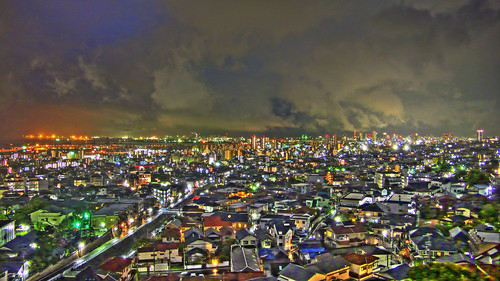 [HDR]Night view, Kobe