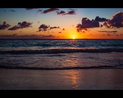 Punta Cana sunrise ([nosamk] KMason photography) Tags: ocean morning vacation sun seascape reflection beach water colors clouds sunrise island early sand waves dominicanrepublic resort explore caribbean puntacana touching oceanblue h10 oceansands interestingness299 i500 canonef24105mmf4lisusm abigfave moosesfilter explore041609 tscf2010ar