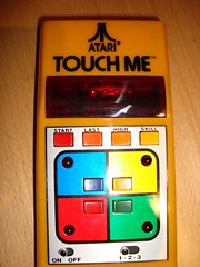 TOUCH ME  ATARI GAME 1980 HANDELD ELECTRONIC G...