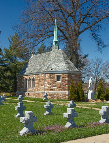 Daughters of Charity cemetery, in Normandy, Missouri, USA - chapel