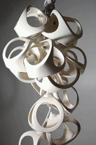 2modern matt gagnon ceramic lamp