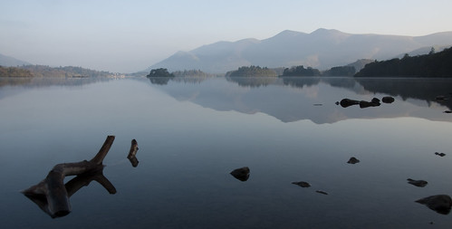 Derwent Water on an April morning