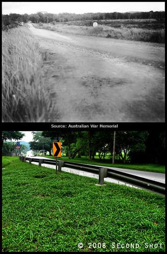 Choa Chu Kang Road 1945