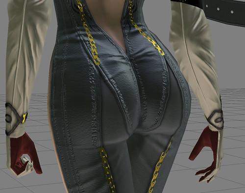 Así se modeló el culo de Bayonetta