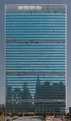 United Nations Building New York (Philinflash) Tags: nyc autostitch newyork cityscape unitednations m8 2009