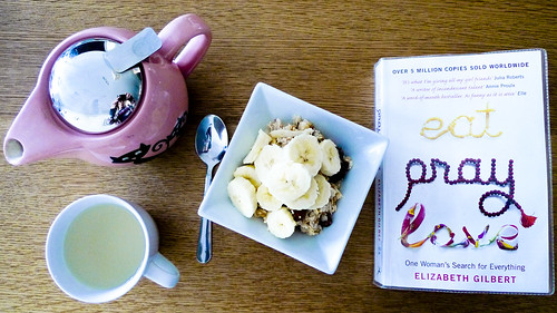 Bircher Muesli with Lemon Tea and a New Read