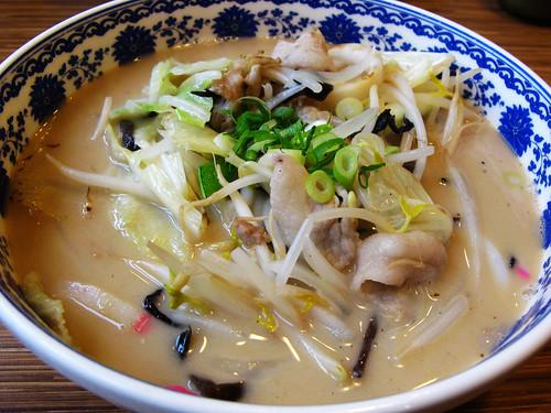 伊太郎 -長崎什錦強棒拉麵