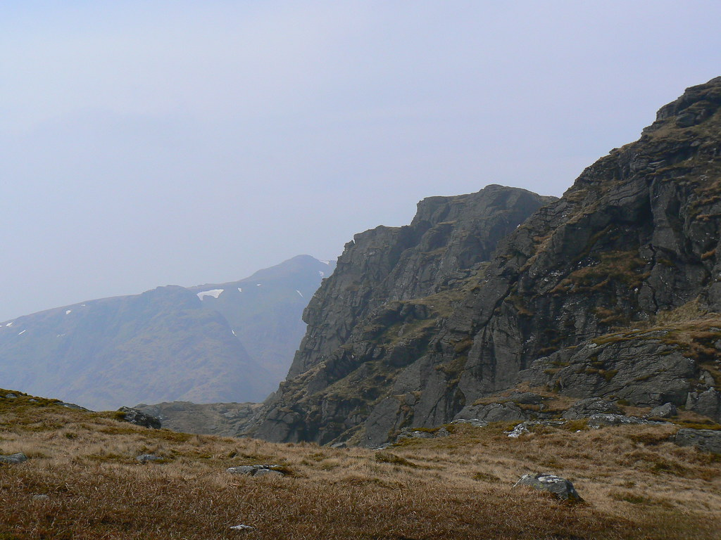 Summit approach on Ben Vane