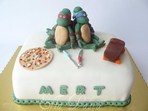 ninja turtles cake 5
