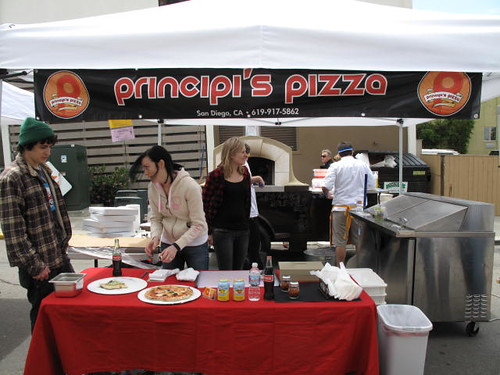 Principi's - Mobile Wood Burning Pizza at the Little Italy Farmers Market in San Diego