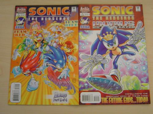 Two Sonic Comics
