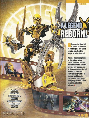 BIONICLE: The legend reborn spoliers by Lewi™.