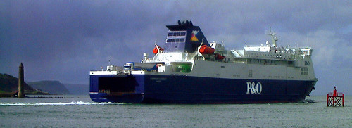 Larne, Northern Ireland to U.K Mainland Car Ferry