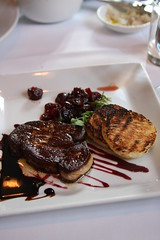 Anthony David - foie gras, toast, cherries