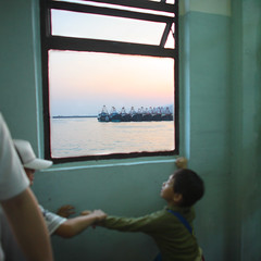 Curiosity (briyen) Tags: boys ferry hongkong boat fishing photos terminal hong kong fighting