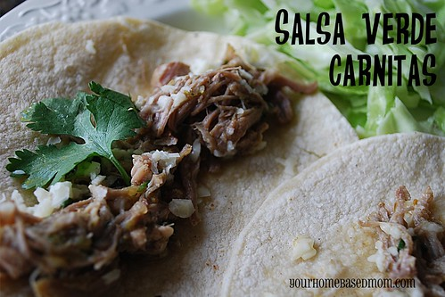 Salsa Verde Pork Carnitas