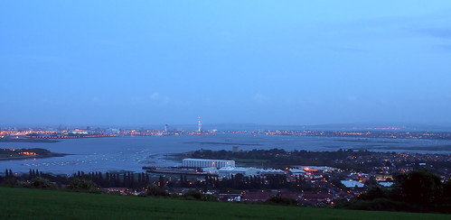 Portsmouth Harbour From Portsdown Hill