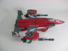 Transformers Thrust Classic Henkei - modo alterno