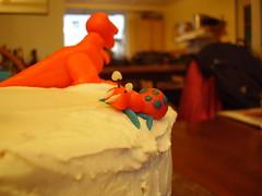 Spookbug (plussed) Tags: birthday monster cake marzipan