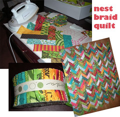 nest braid quilt (Jaybird Quilts) Tags: