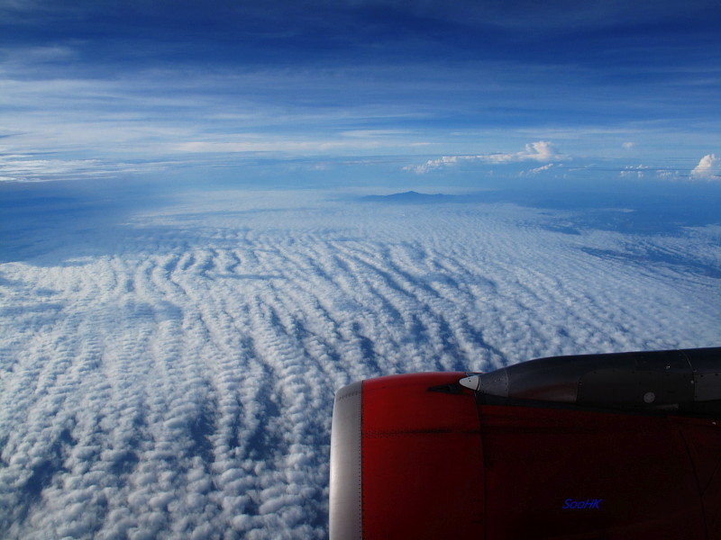 CloudScape From Malaysia Sky