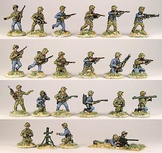 20mm Warmodelling U.S. Marines (IWO JIMA)