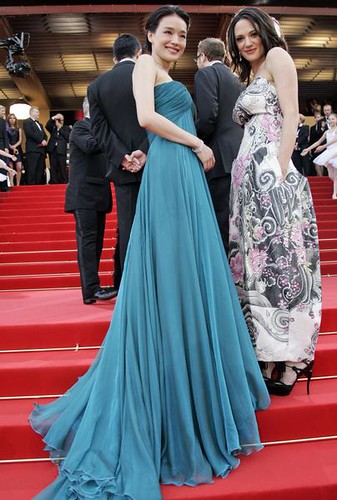 Taiwanese actress Shu Qi and Italian actress Asia Argento