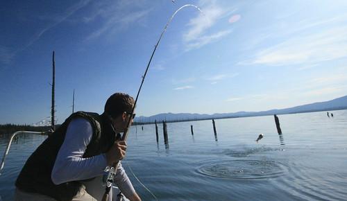 Crane Prairie fishing