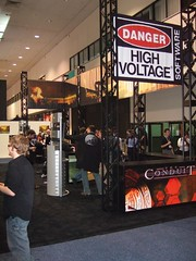 High Voltage Software Booth - The Conduit