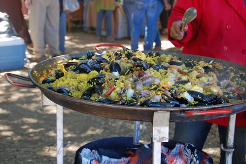Resturante Caprichos Paella at Guateque 2009