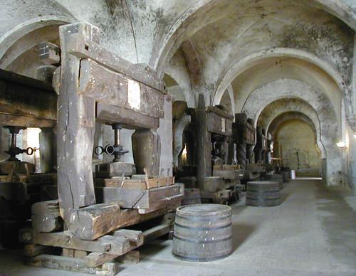 Kloster Eberbach - Old Wine Presses