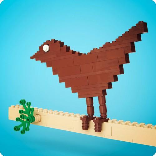 Twitter Lego Vogel