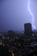 Austin Texas Lightning June 11, 2009  Un-edited